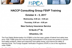 AFTA FSVP Training Information-1